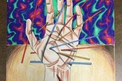 """Pick Up Sticks"" by Robert Oberreit"