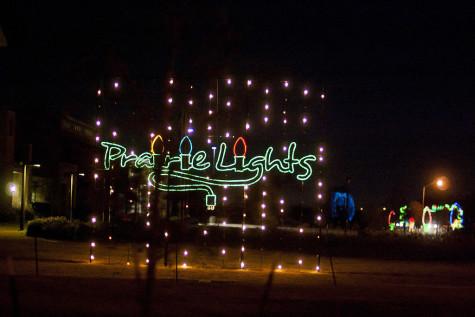 The Prarie Light display in Lynn Creek Park.