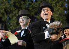 Groundhog Day: Punxsutawney Phil Predicts Early Spring