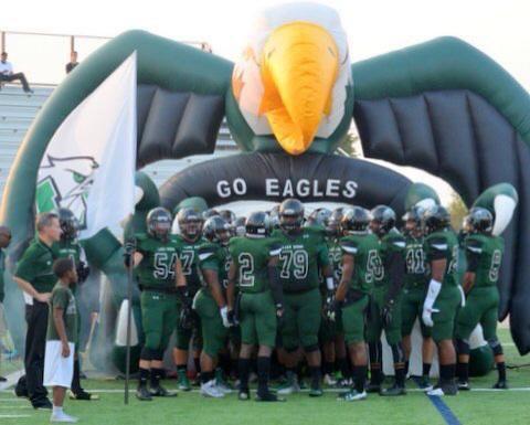 Eagles football preps for upcoming season