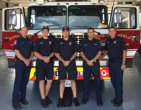 Mansfield Fire Department crew of fire station three