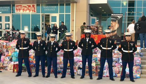 Mansfield Hosts Toys for Tots