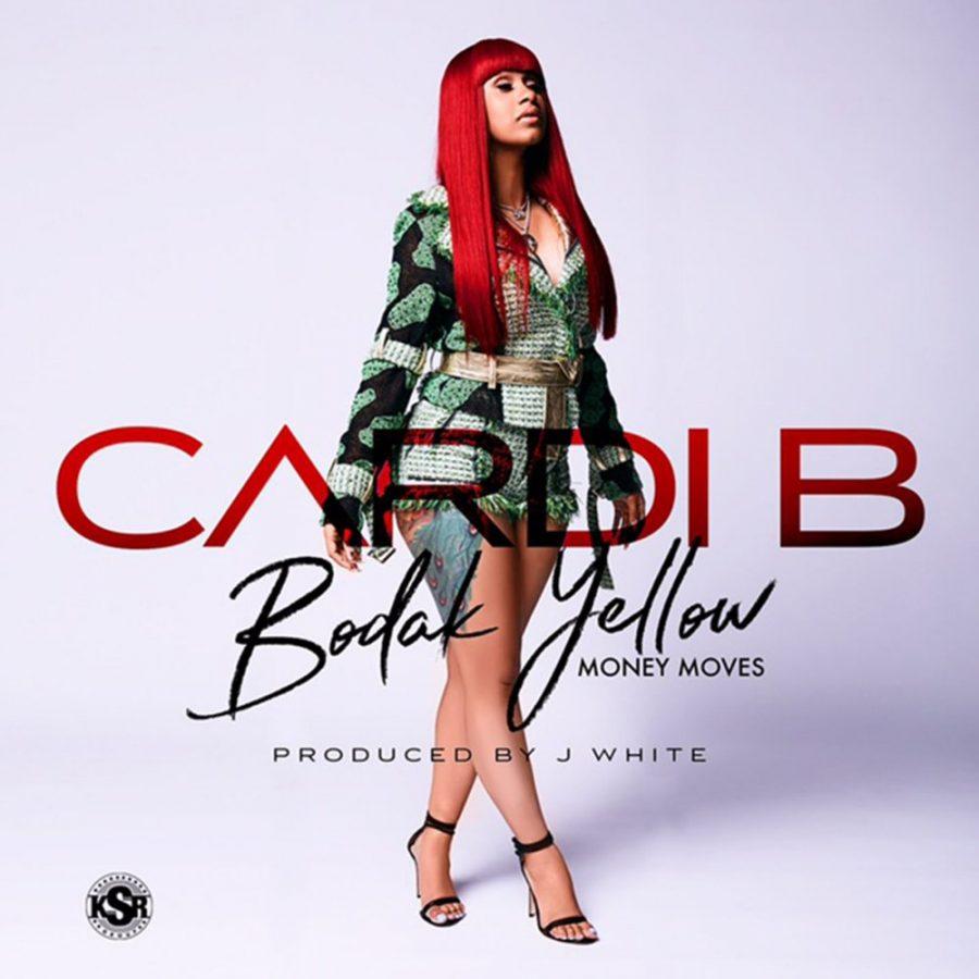 Cardi B tops the Charts