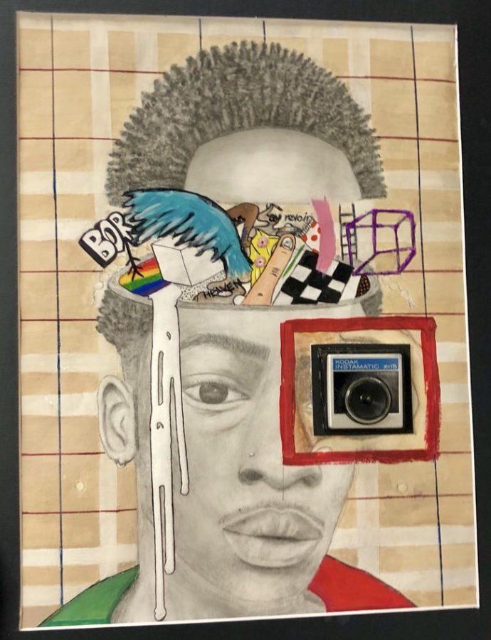 Jaylon Jones self portrait,