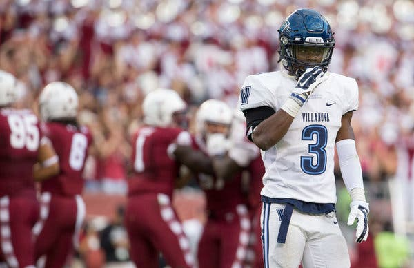 Former Villanova University Trey Johnson filed a lawsuit against the NCAA for violating minimum wage laws, because they don't pay student athletes. Courtesy of Google Images.