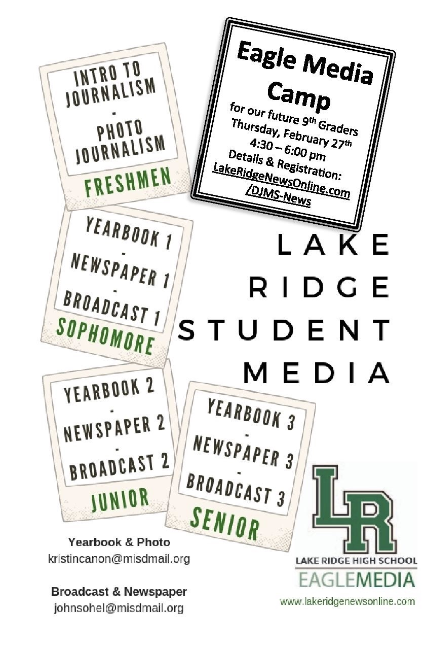 Eagle Media Camp Sign Up