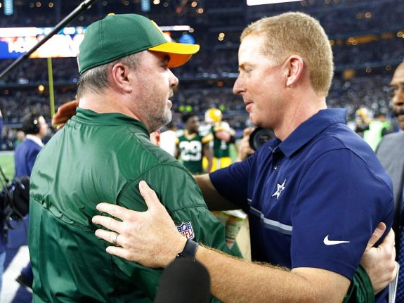 The Cowboys said out with the old and in with the new as they made a change at head coach.