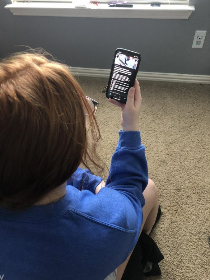 With so much extra time on their hands, students are spending more time on social media.