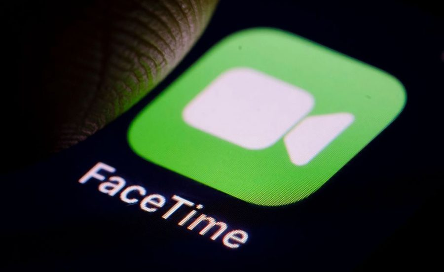Facetime allows for people to talk face-to-face across any distance, providing some sort of semblance to a real-life conversation. Courtesy of Google Images.