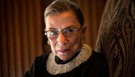 Supreme Court Justice Ruth Bader Ginsburg was known for her strong stance on issues of equality.