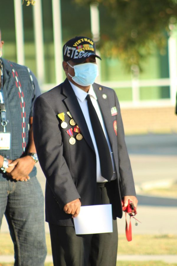 Lake Ridge hosted a Veteran