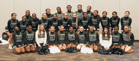 The Lake Ridge Cheer Team recently participated at their UIL event.