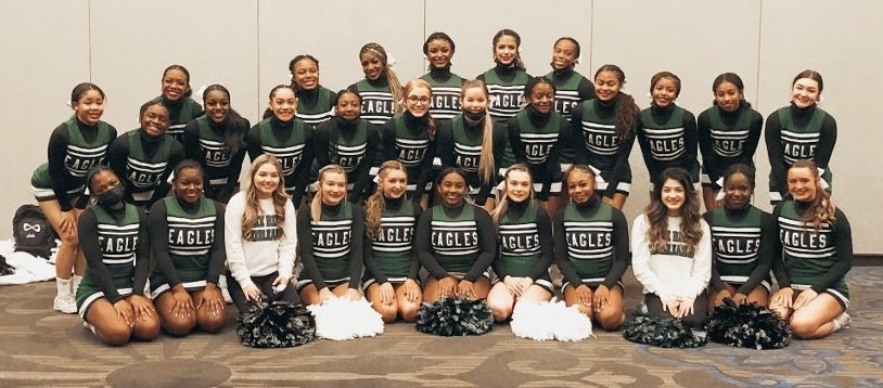 The+Lake+Ridge+Cheer+Team+recently+participated+at+their+UIL+event.