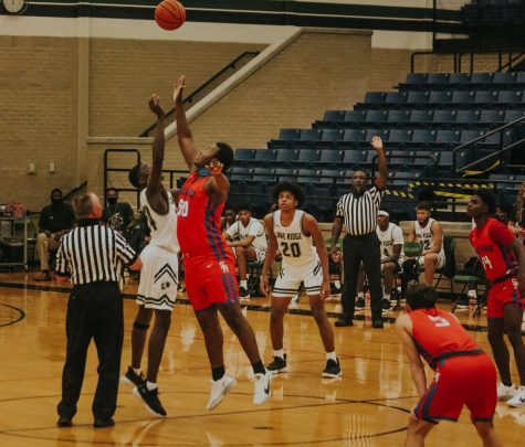 The Lake Ridge Boys Basketball team has rallied together with the help of strong leadership on and off the court.