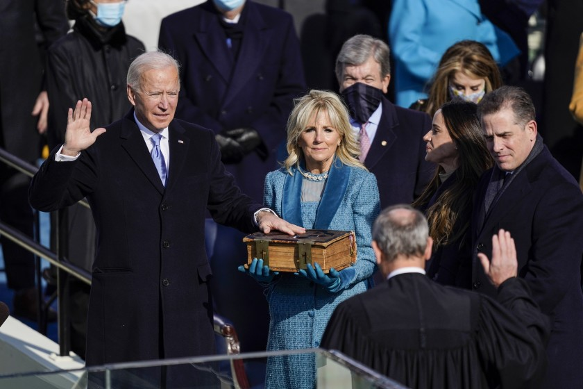 Following+Biden%27s+inauguration%2C+people+are+hopeful+for+a+renewed+sense+of+unity+within+the+country.+
