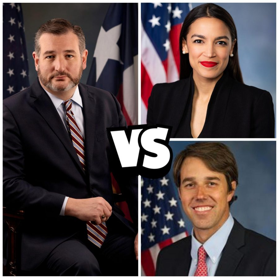 Texas Senator, Ted Cruz, is under fire for fleeing his constituents; meanwhile, his political adversaries, Beto O