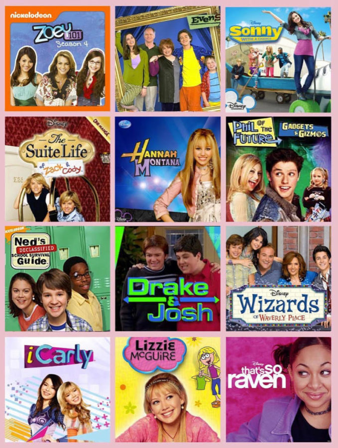 Childhood T.V. shows create a greater sense of nostalgia among audiences who have grown up with the T.V. shows.