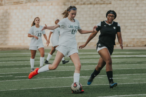 Both the boys and girls soccer teams finished their seasons and advanced into the playoffs.