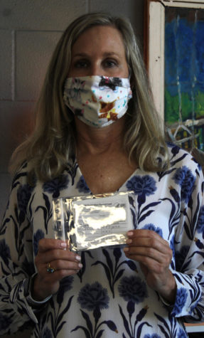 Lisa Cole, English teacher, admits her feelings of worry and annoyance after learning she tested positive for COVID-19.