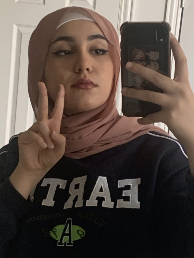 Nour Karajeh, junior, has plans to enter into the medical field following her senior year.
