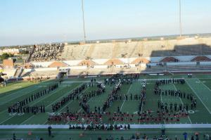 8th Grade Band Night at Desoto Game